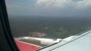 Kingfisher Landing @ Trivandrum Airport