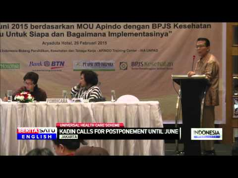 Kadin Asks Indonesian Government to Postpone Universal Health Care Rollout