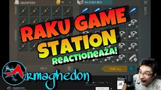 Raku Game Station react la...???😭 Armaghedon Survival