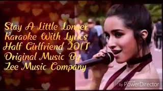 Stay a little longer with me baby|half-girlfriend