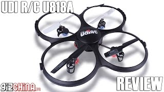 UDI U818A Review Deutsch - Einsteiger Quadrocopter (gizchina.de)