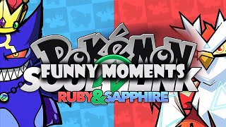 Shadypenguinn & TheKingNappy Pokémon R S Soul Link Funny Moments
