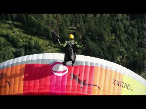 team freestyle paragliding @ Bischling