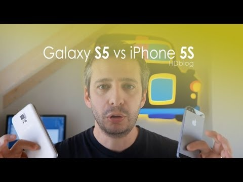 Samsung Galaxy S5 contro iPhone 5S il confronto di HDblog