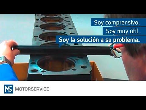 Montaje de camisas de cilindro - Motorservice Group