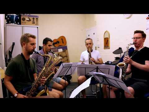 It Was Only a Sun Shower - Michael McQuaid Saxophone Quartet thumbnail