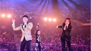 江苏卫视2017跨年演唱会 Part1 大蓝鲸跃屏而出!李健、林宥嘉一开腔,全世界都在倾听你