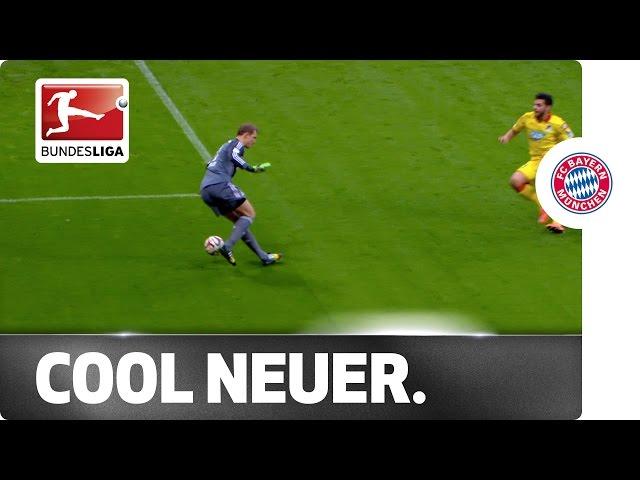 Neuer At It Again - Risky Cruyff Turn