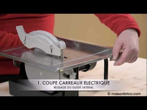 Carreaux videolike for Machine a couper le carrelage