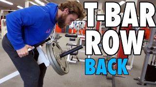 T-BAR ROW | Back | How-To Exercise Tutorial