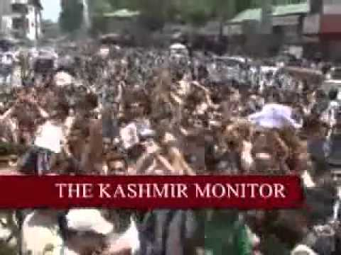 ANTI-ISRAEL protest in Kashmir