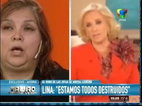 "Lina, la ex empleada de Mirtha Legrand: ""La cuidaba como si fuese mi madre"""