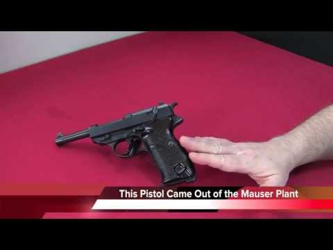 Walther P38 - WWII German Pistol