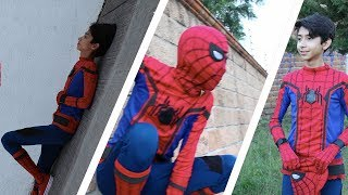 IMITANDO FOTOS DE SPIDERMAN HOMECOMING/ IMITATING PHOTOS OF SPIDERMAN HOMECOMING