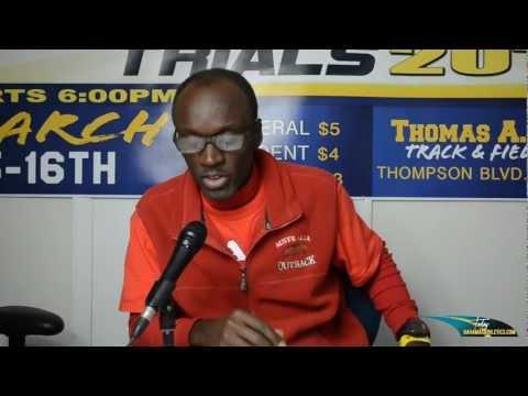 Bahamas 2013 Pre CARIFTA Trial qualifiers... A Bahamas Athletics Exclusive.