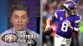 Vikings among 10 teams to land 5 primetime games | Pro Football Talk | NBC Sports
