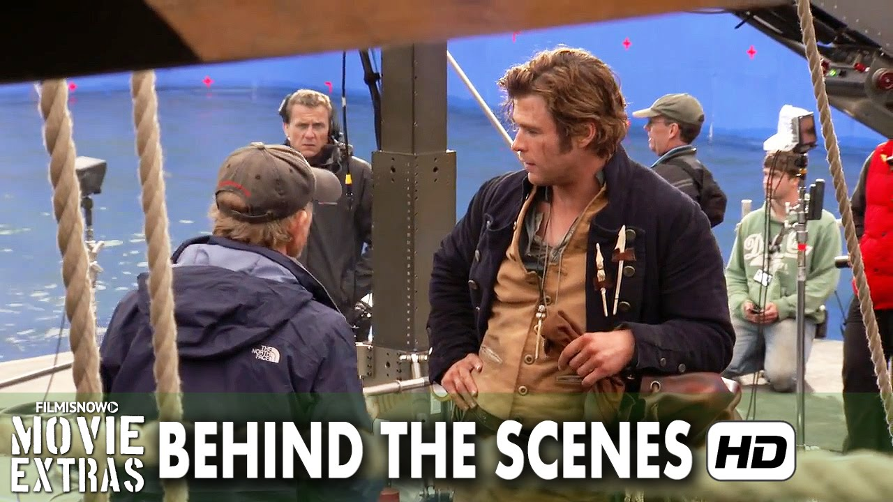 In the Heart of the Sea (2015) Behind the Scenes - Part 2/2