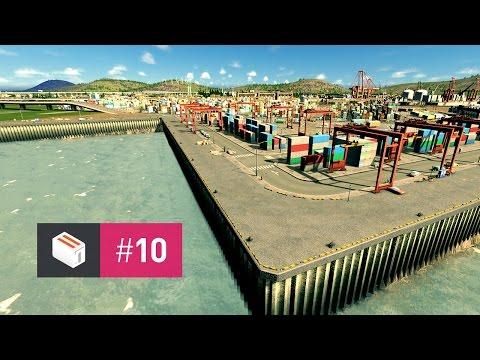 Let's Design Cities Skylines — EP 10 — Cargo Harbor