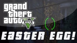 Grand Theft Auto 5 | Secret Golden Bush Easter Egg! (GTA V)