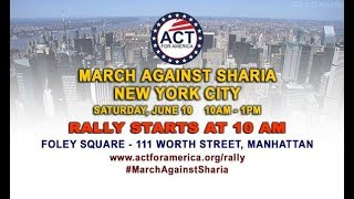 Gavin McInnes Speech : ACT March Against Sharia NYC June 10, 2017