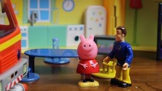 Bajka Świnka Peppa po polsku Strażak Sam i Świnka Peppa otwierają jajka niespodzianki