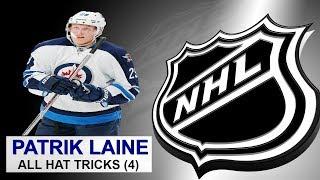 All 4 Hat Tricks by Patrik Laine