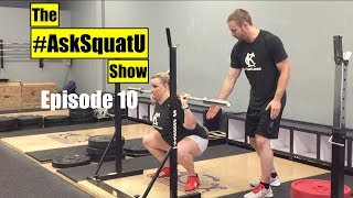 How to Back Squat  |#AskSquatU Show Ep. 10|