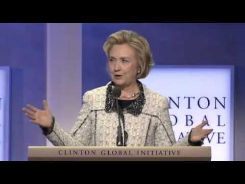 Hillary Clinton Speech at Clinton Global Institute 2013   Empowering Women   (9-25-13)