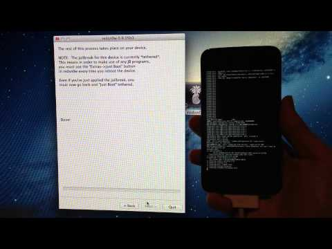 Jailbreak iOS 6.1.3/6.1.5 Untethered [iPhone 5/4S/4/3GS/iPad4/3/2/Mini1/iPodTouch4G/5G]