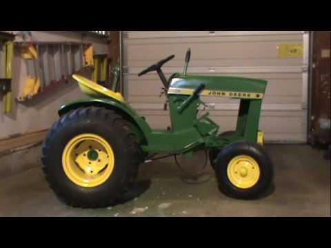 1964 John Deere 110 pulling tractor