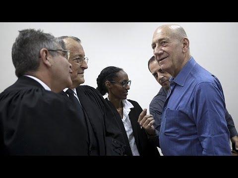Eski İsrail Başbakanı Olmert rüşvet davasında hapis cezasına çarptırıldı