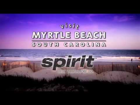 Fly Non-Stop on Spirit to Myrtle Beach and Save