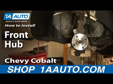 How To Install Replace Front Hub Chevy Cobalt Pontiac G5 05-10 1AAuto.com
