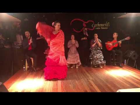 Tablao Las Carboneras: Claudia Cruz por cantiñas