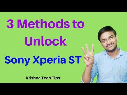 Sony Xperia ST25i Hard Reset - How to Unlock Pattern Lock
