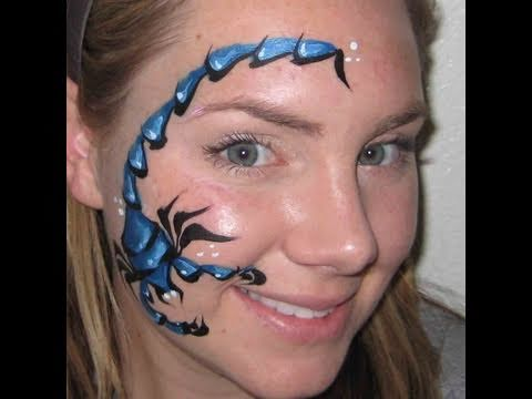 Scorpion Face Painting YouTube