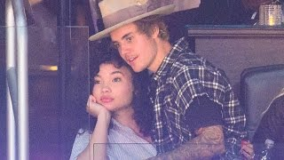 Justin Bieber Caught Getting Cozy with Ashley Moore at Clippers Game
