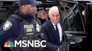 "Mueller's Team Seizes ""Voluminous And Complex"" Evidence In Roger Stone Probe | Deadline | MSNBC"