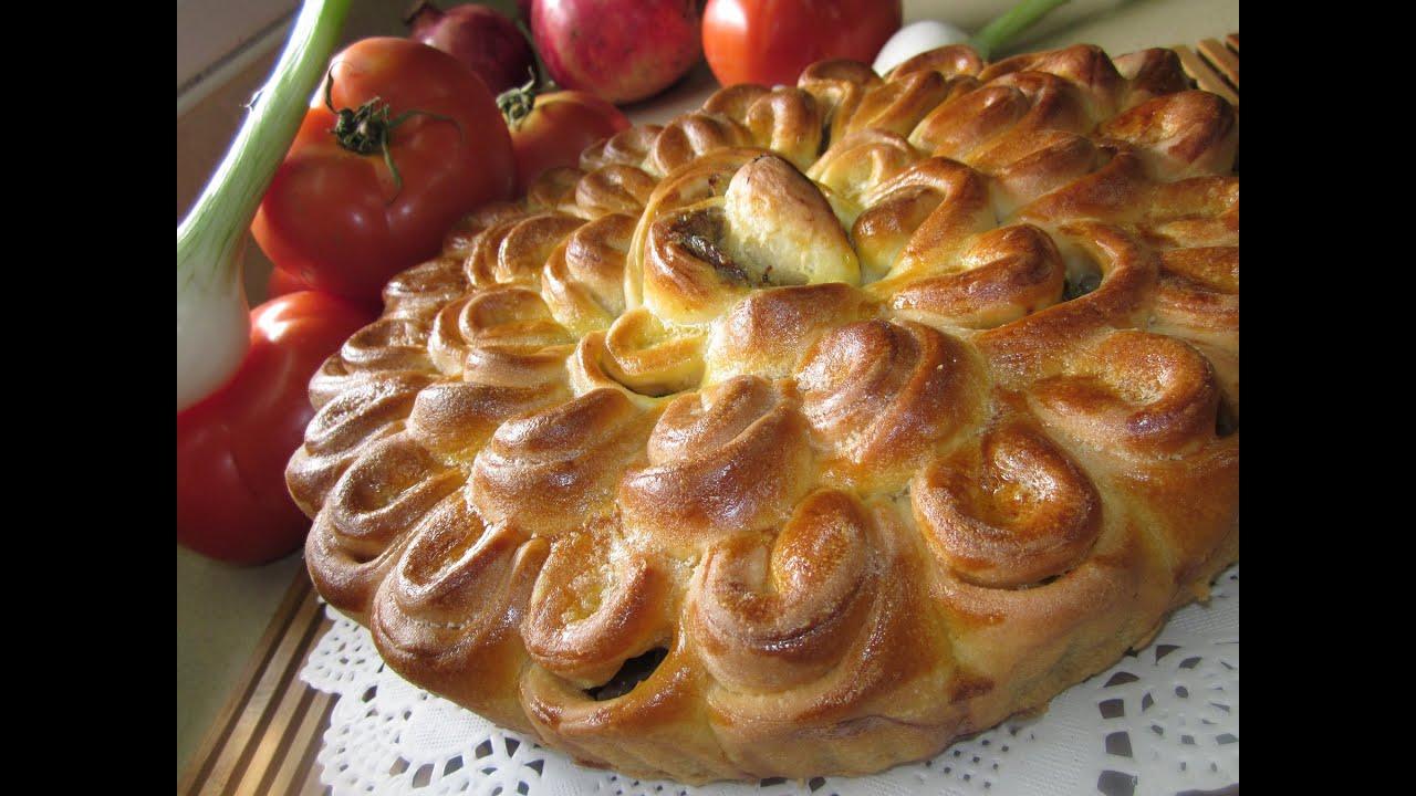 Мясные домашние пироги рецепты с пошагово с