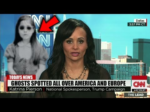 Top 5 Ghost Sightings CAUGHT ON LIVE TV!