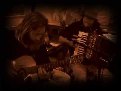 Hipster ® Jesus performing his 'Gibraltar' - with Angus Martin on Accordeon