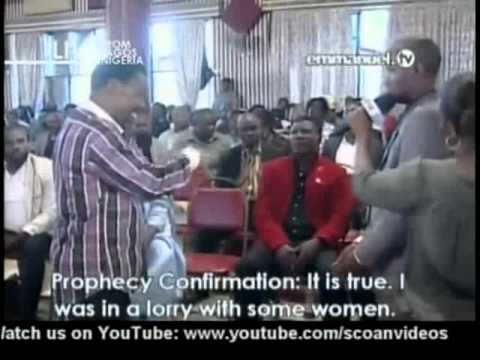TB Joshua. Prayer & Prophecy 21-04-2013