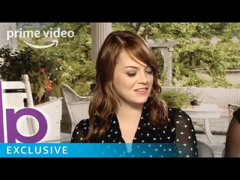Emma Stone and Viola DavisThe Help Interview