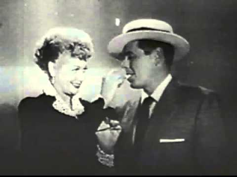 Lucy selling cigatettes for Philip Morris (I love Lucy) - Old Cigarette Commercial