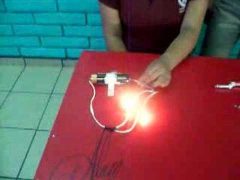 experimento de fisica sobre circuitos