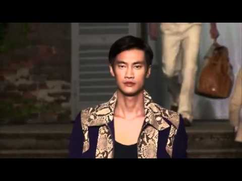 Roberto Cavalli Men's Spring/Summer 2012 Full Fashion Show