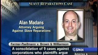 Slave Reparations Case Oral Arguments