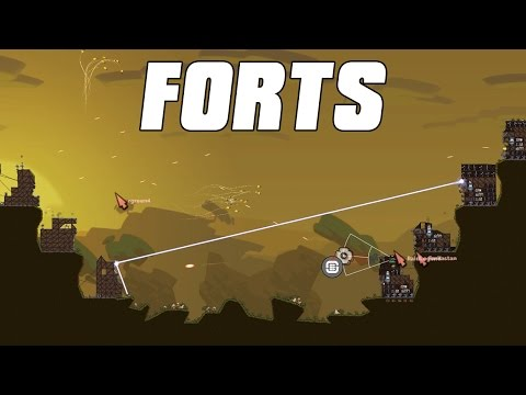 FORTS Multiplayer - Late Game! Dream Game 4v4 Gameplay