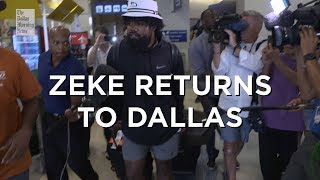 "Ezekiel Elliott ""Zeke"" returns to Dallas"