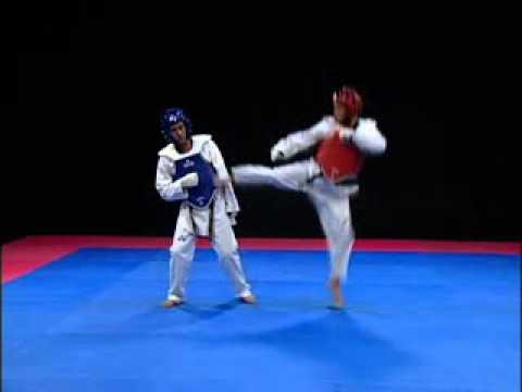 Taekwondo - Técnicas en salto Tuio Yop Chagui